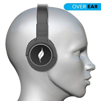 Leaf Beast Wireless Bluetooth Headphones with mic and 30 Hour Battery Life-7160