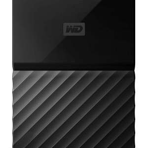 WD My Passport 1TB Portable External Hard Drive (Black)-0