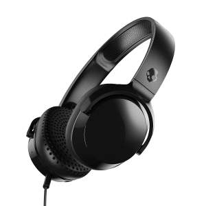 Skullcandy Riff S5PXY-L003 On-Ear Headphone with Mic (Black)-0