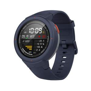 Amazfit Verge IP68 Phone Call Smart Watch (Blue)(Packing Damage Only)-0