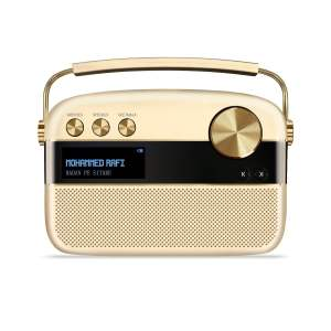 Saregama Carvaan Portable Digital Music Player (Champagne Gold) - Sound by Harman/Kardon-0