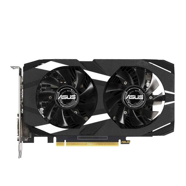 ASUS GeForce GTX 1650 Overclocked 4GB Dual-Fan Edition VR Ready HDMI DP 1.4 DVI Graphics Card (Dual-GTX1650-O4G)-8580