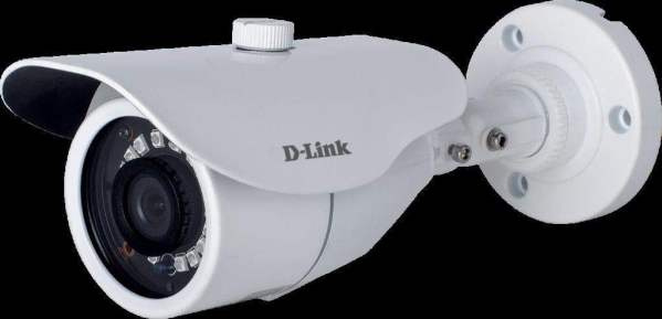 D-Link 2MP HD Day and Night Fixed Bullet Camera with 30M of IR Range (White)-0