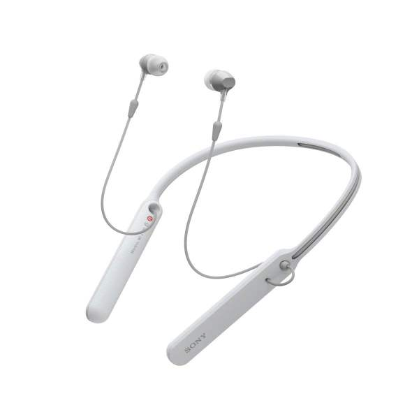Sony C400 Wireless Behind-Neck in Ear Headphone White (WIC400/W) (100% New and Original)(Packing Damage Only)-9184