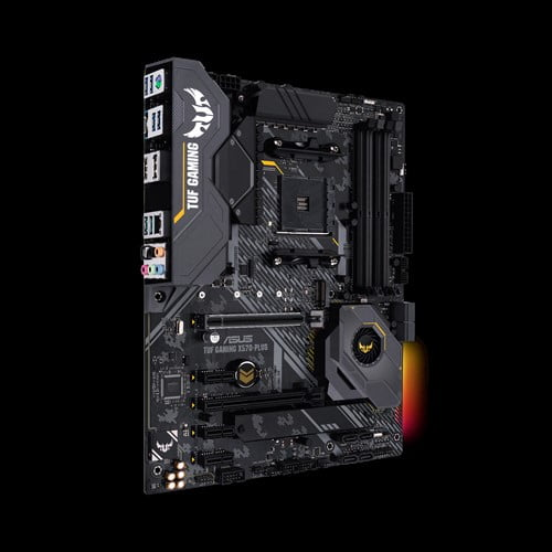 Asus AMD AM4 X570 ATX TUF gaming motherboard with PCIe 4.0, dual M.2, 14 Dr. MOS power stages, HDMI, DP, SATA 6Gb/s, USB 3.2 Gen 2 and Aura Sync RGB lighting-9391