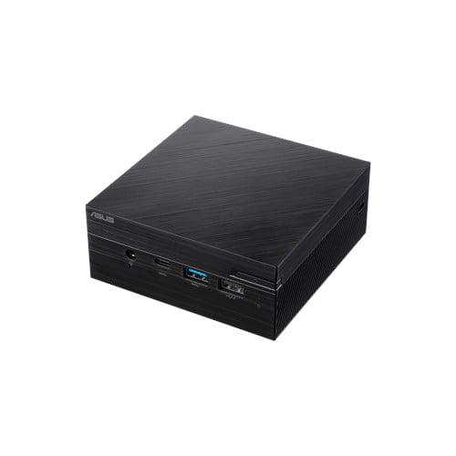 COMBO ASUS PN40 Ultra-Compact Mini PC with Intel Celeron N4000 Processor/Intel UHD Graphics 600 / 4GB DDR4 RAM/ 128GB M.2 SSD / 4K UHD Support/USB 3.1 Gen 1 Type-C (PN40-BBC203MV) Black-9552