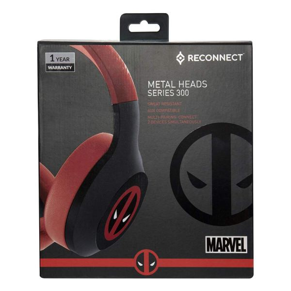 Marvel Dead Pool Over The Ear Wireless Headphone (6)