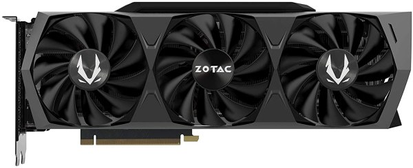 ZOTAC GAMING GeForce RTX 3080 Trinity OC 10GB GDDR6X 320-bit 19 Gbps PCIE 4.0 Gaming Graphics Card,