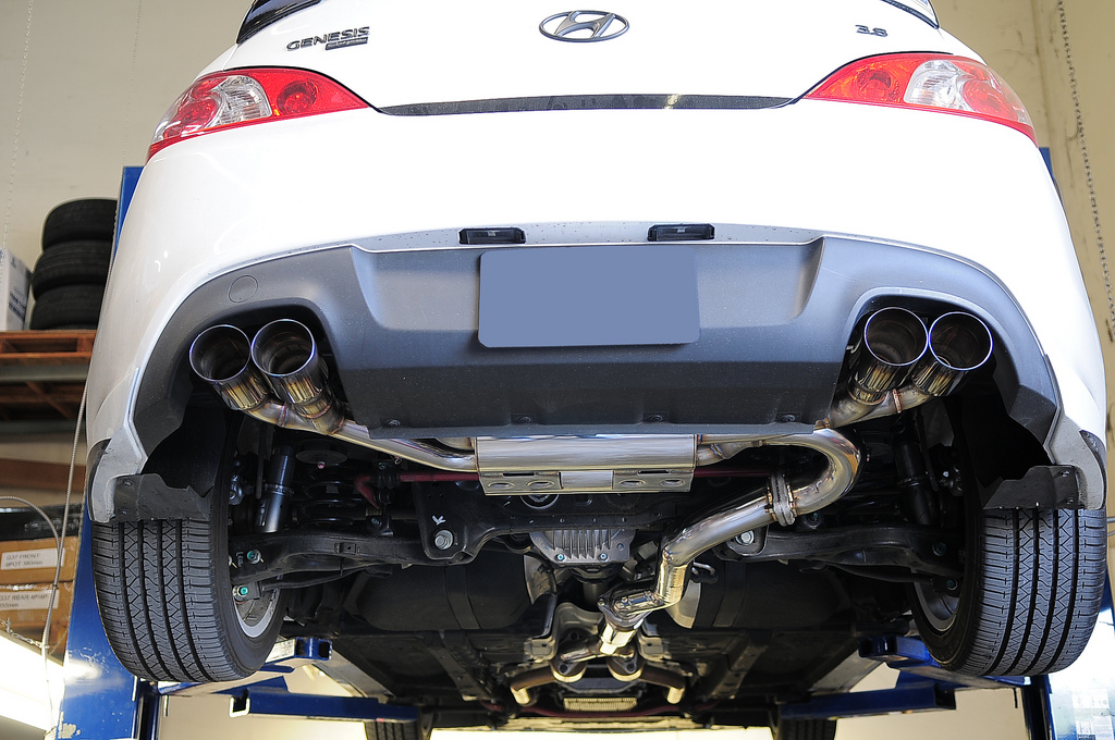 mxspbkt6 genesis coupe 3 8 mxp catback exhaust 2010 2012