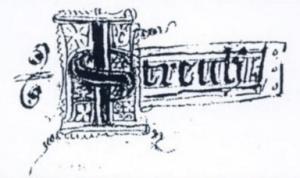 The Signature of John Strecche