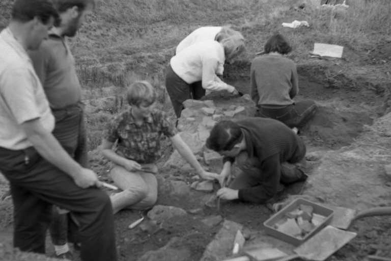 Roman artefacts found in the Cherry Orchard Dig of 1964