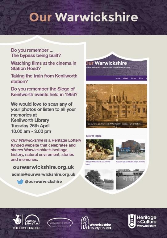 Our Warwickshire flyer