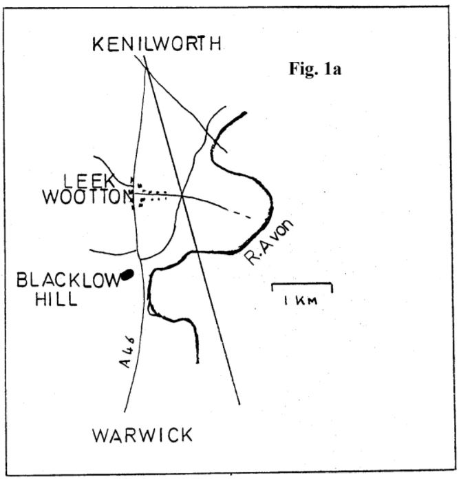 Fig 1a Map of the Area