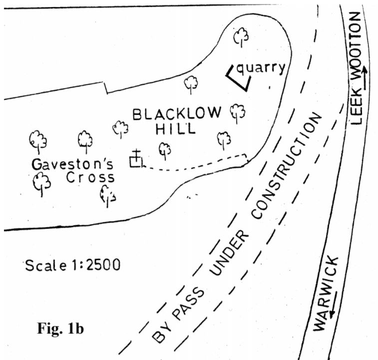 Fig 1b Plan of the Site