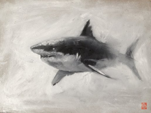 shark_oil_on_wood_01