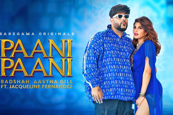 Jacqueline: Shooting of 'Pani Pani' in two days in the scorching heat of Rajasthani desert
