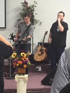 Corbin & Tyler Praise