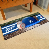 Los Angeles Dodgers Baseball Carpet Runner 30 x 72 floor ...