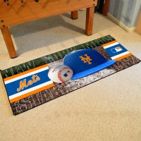 New York Mets Baseball Carpet Runner 30 x 72 floor mat ...