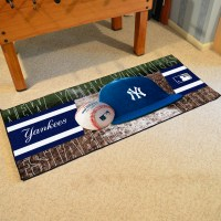 New York Yankees Baseball Carpet Runner 30 x 72 floor mat ...