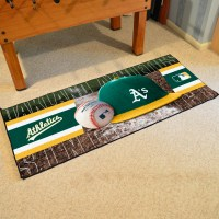 Oakland A's Baseball Carpet Runner 30 x 72 floor mat - Buy ...