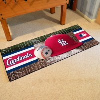 St. Louis Cardinals Baseball Carpet Runner 30 x 72 floor ...