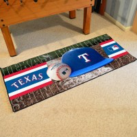 Texas Rangers Baseball Carpet Runner 30 x 72 floor mat ...
