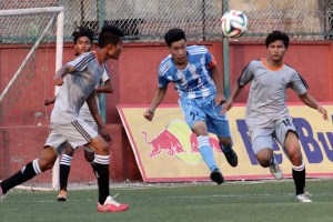 Lalit Memorial U18 Cham'ship: MMC Vs APF - Khel Dainik Photos