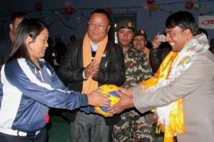 4th Prime Minister Cup Women's Volleyball Tournament Begins: Railway India and APF Makes A Winning Start - Khel Dainik