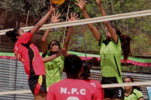 1st Radio Didi Bahini Cup National Level Women's Volleyball Championship: Nepal APF Makes A Wining Start - Khel Dainik