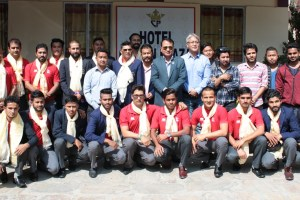 Nepali Cricket Team Leaves For Bangladesh To Participate In The ACC Emerging Teams Cup! - Khel Dainik