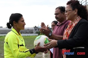 Nepal FIFA Assistant Referee Bina Shrestha Selected In A Panel of AFC Women Elite Referee For 2017 - TexasNepal