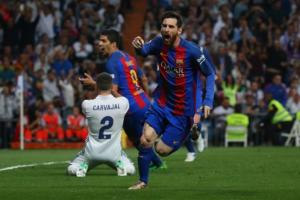 Messi's 500th Barca Goal Sinks Real Madrid In Thriller - TexasNepal