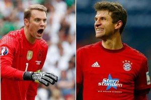 Bayern's Neuer, Mueller to miss Dortmund game, ready for Real - TexasNepal