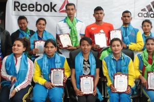 Athletics Players Honored - TexasNepal