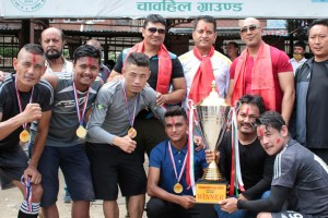 Freedom Fighter Wins Title Of 1st Chabahil Cup Open 6-A-Side - Khel Dainik
