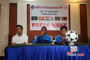 Nepal U15 Coach Sunil Shrestha: Winning Title Is Our Main Target - Khel Dainik