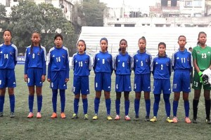 SAFF U15 Girls Championship: Nepal Draws With Bhutan - TexasNepal