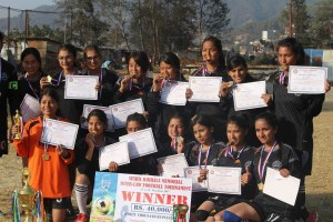 Kavre: Kathmandu School Of Law Wins Title Of Sushil Koirala Memorial Inter Law Football Championship - TexasNepal