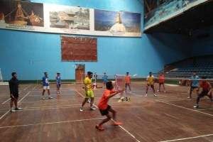 Preparation done for Nepal International Series Badminton - TexasNepal