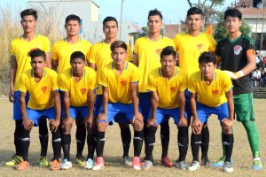 Abhishek's double hat-trick sends hosts in quarterfinals - Khel Dainik