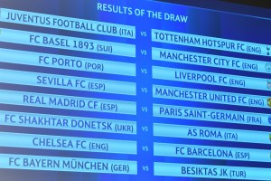 Barcelona, Paris, Spurs drawn tough - TexasNepal