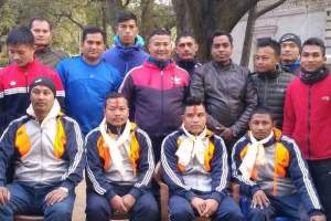 Martial Arts team heads Iran - Khel Dainik