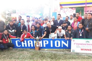 4th International Veteran title to Birtamod - Khel Dainik