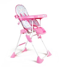 Buy LuvLap Baby High Chair Comfy 8083 Pink Online In India ...