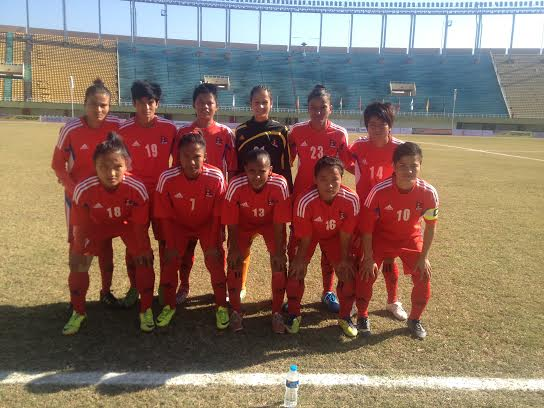 nepali ladies football team