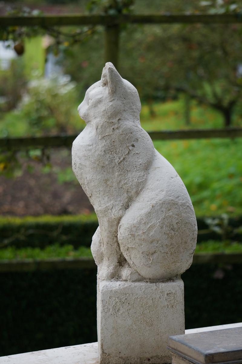 Statue de chat pour jardin  Khenghua