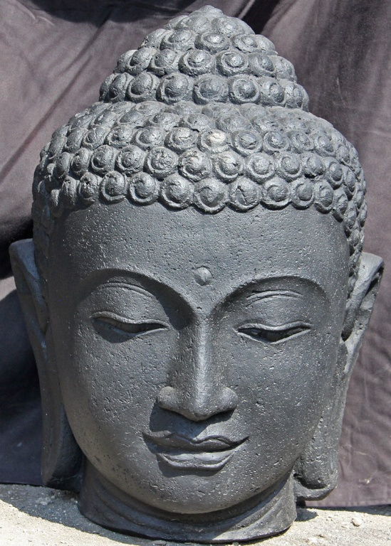 Bouddha en pierre pour jardin  Khenghua