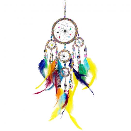 dreamcatcher beaded multi colors