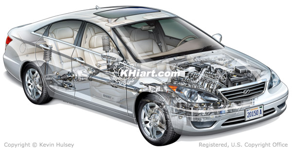 automotive lighting system wiring diagram goodman central air conditioner generic car abs systems, electrical exhaust ac systems and components